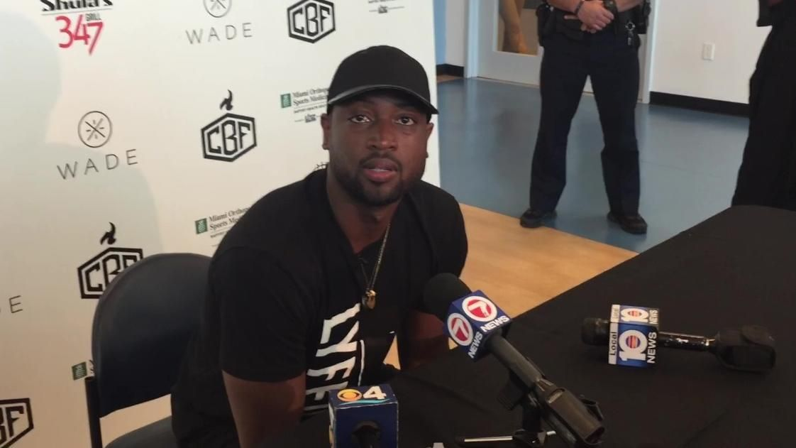 Wade clears the air on his strained relationship with Pat Riley
