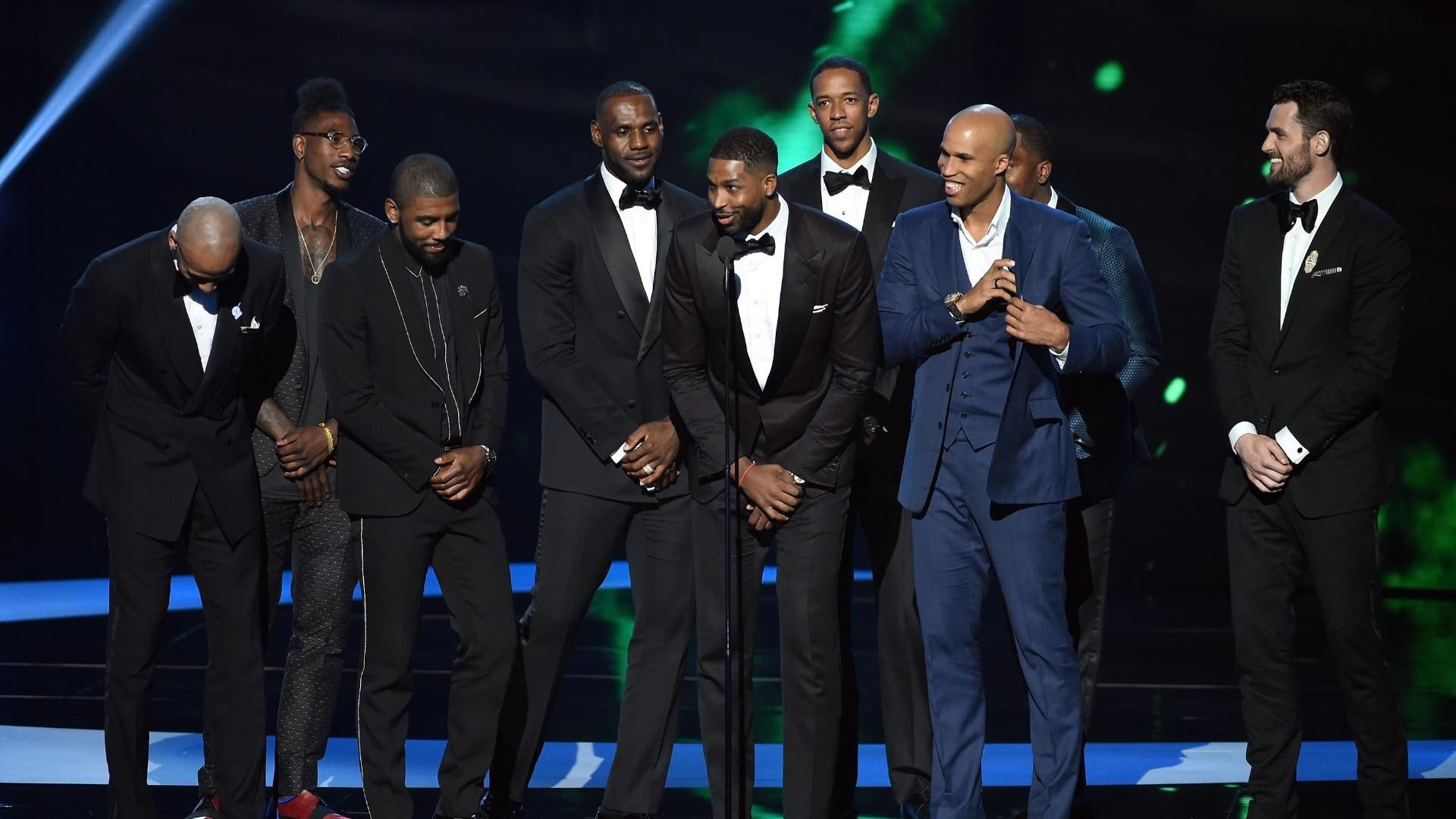 Cavs honored with Best Team ESPY