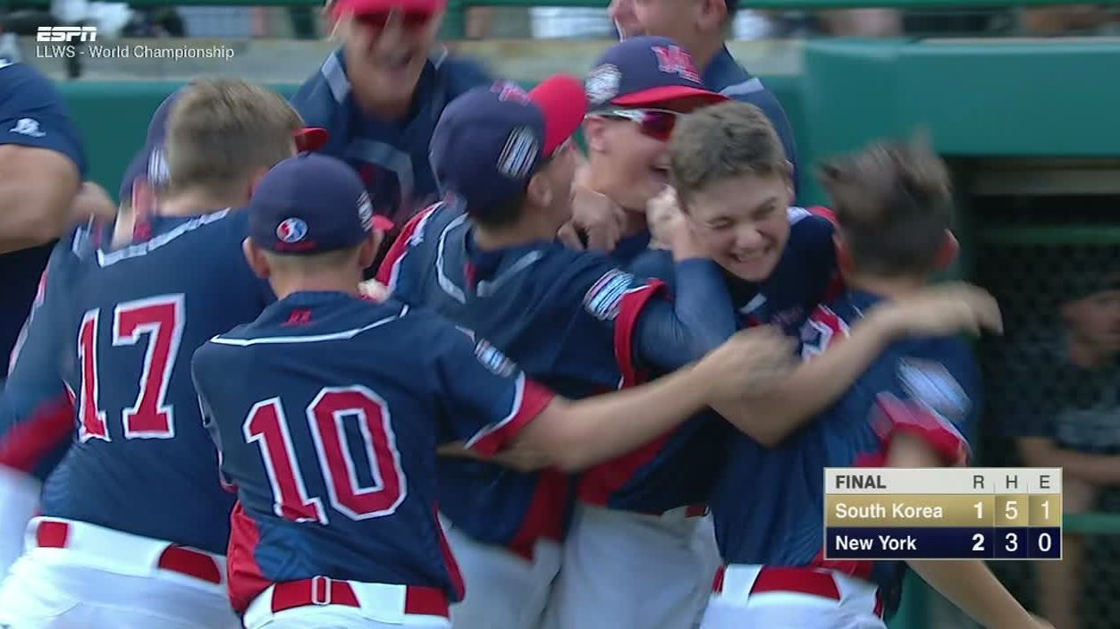 New York wins first LLWS since 1964