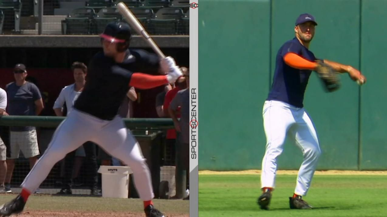 Did Tebow earn a shot with an MLB team?