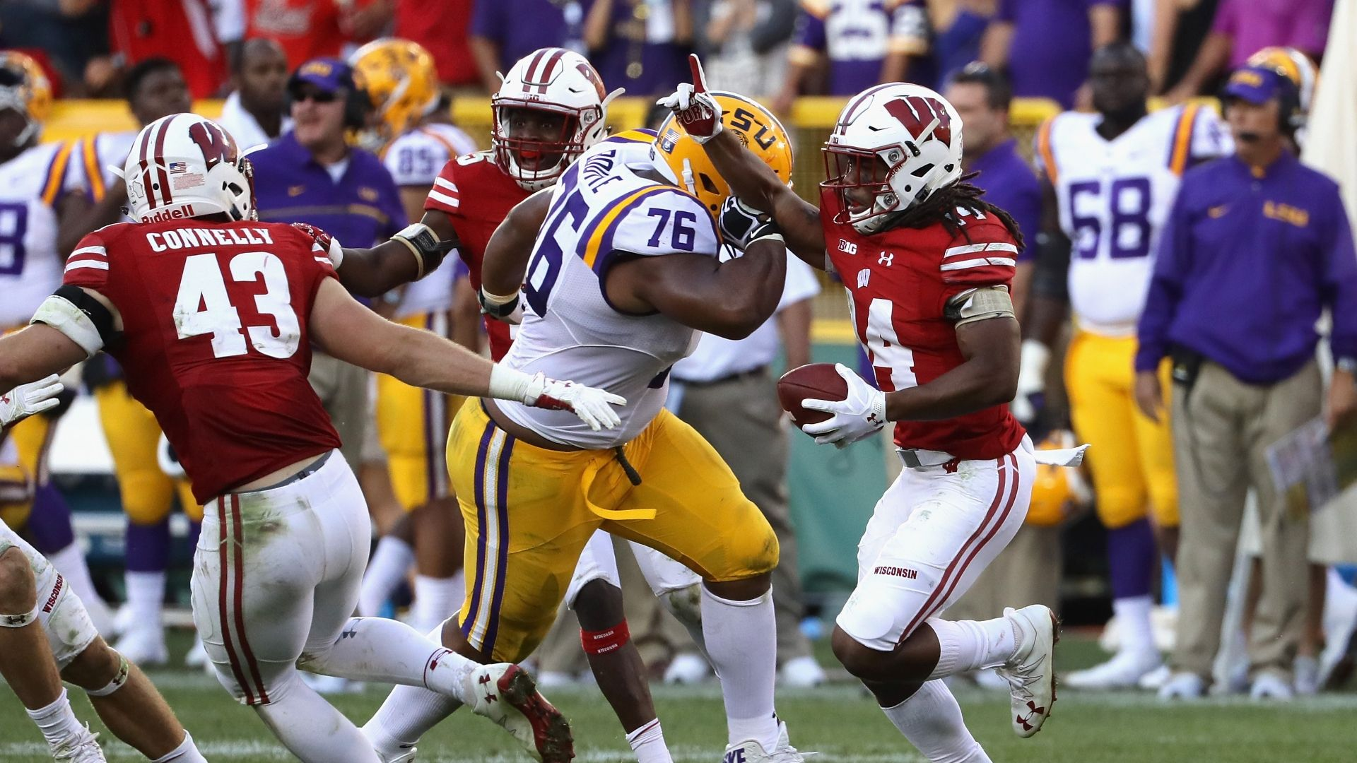 LSU's Boutte ejected after hit following game-sealing INT