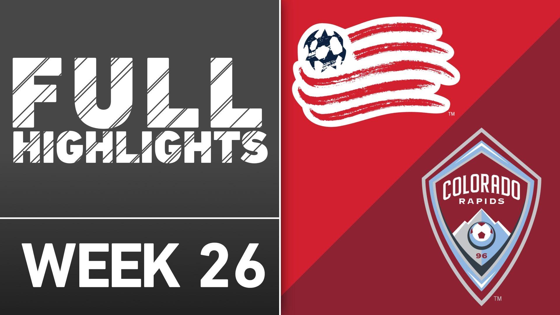 Video via MLS: NE Revolution 2-0 Colorado