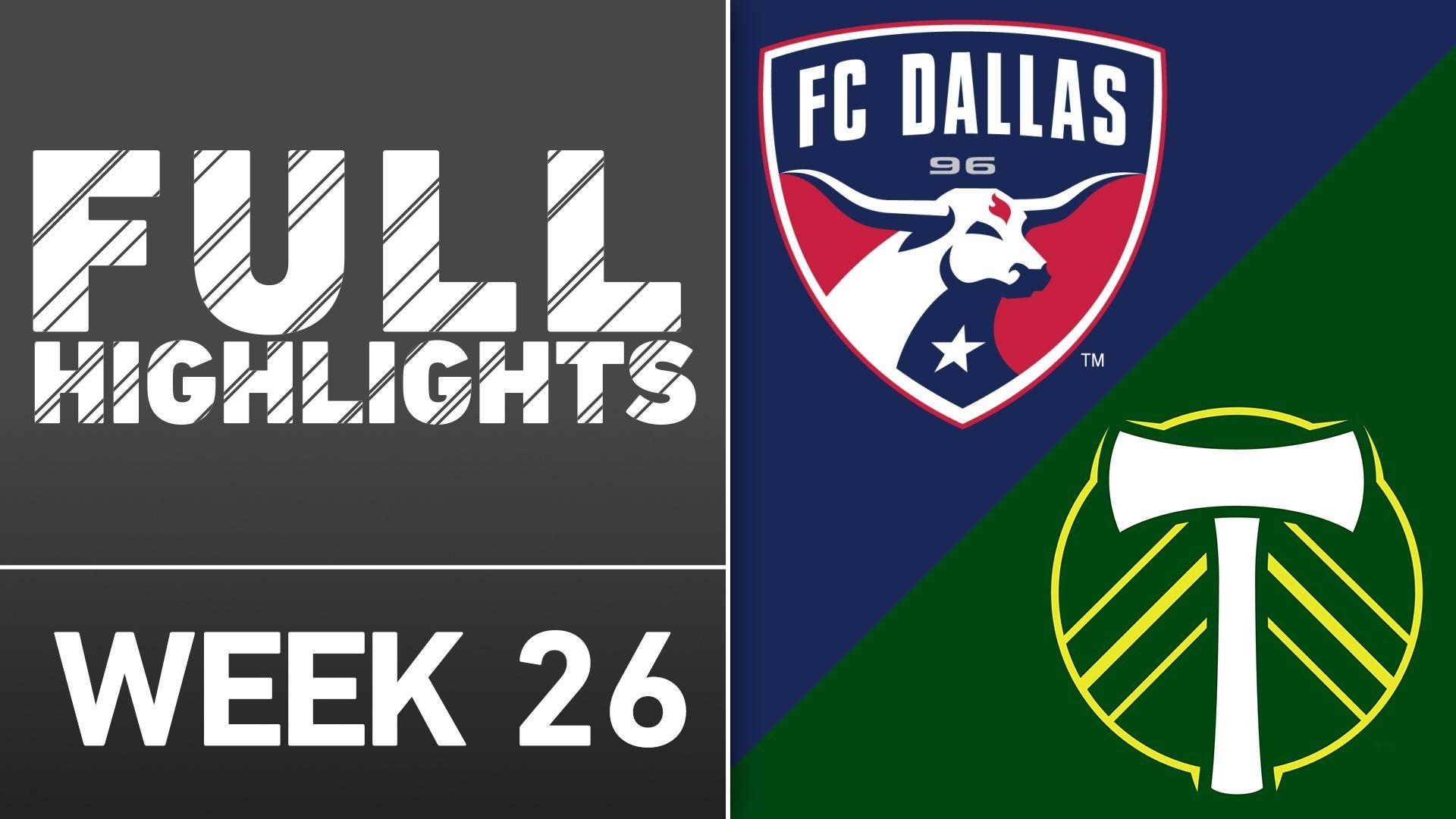 Video via MLS: FC Dallas 3-1 Portland
