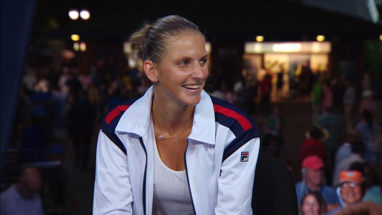 Pliskova breaks down shocking victory over Serena