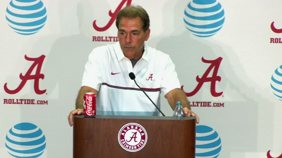 Saban rips team after win