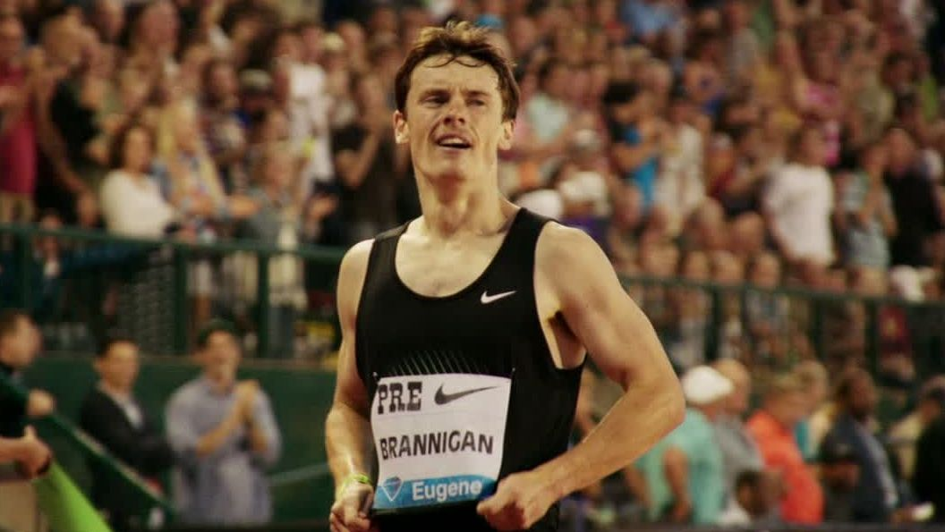 Running comes naturally to Mikey Brannigan when so much else does not