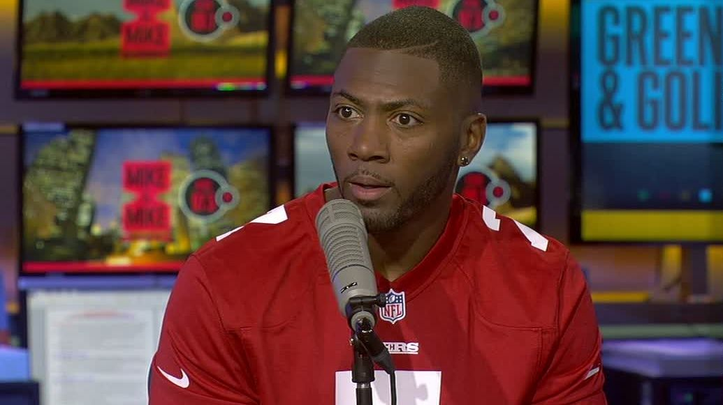 Ryan Clark wears jersey in support of Kaepernick