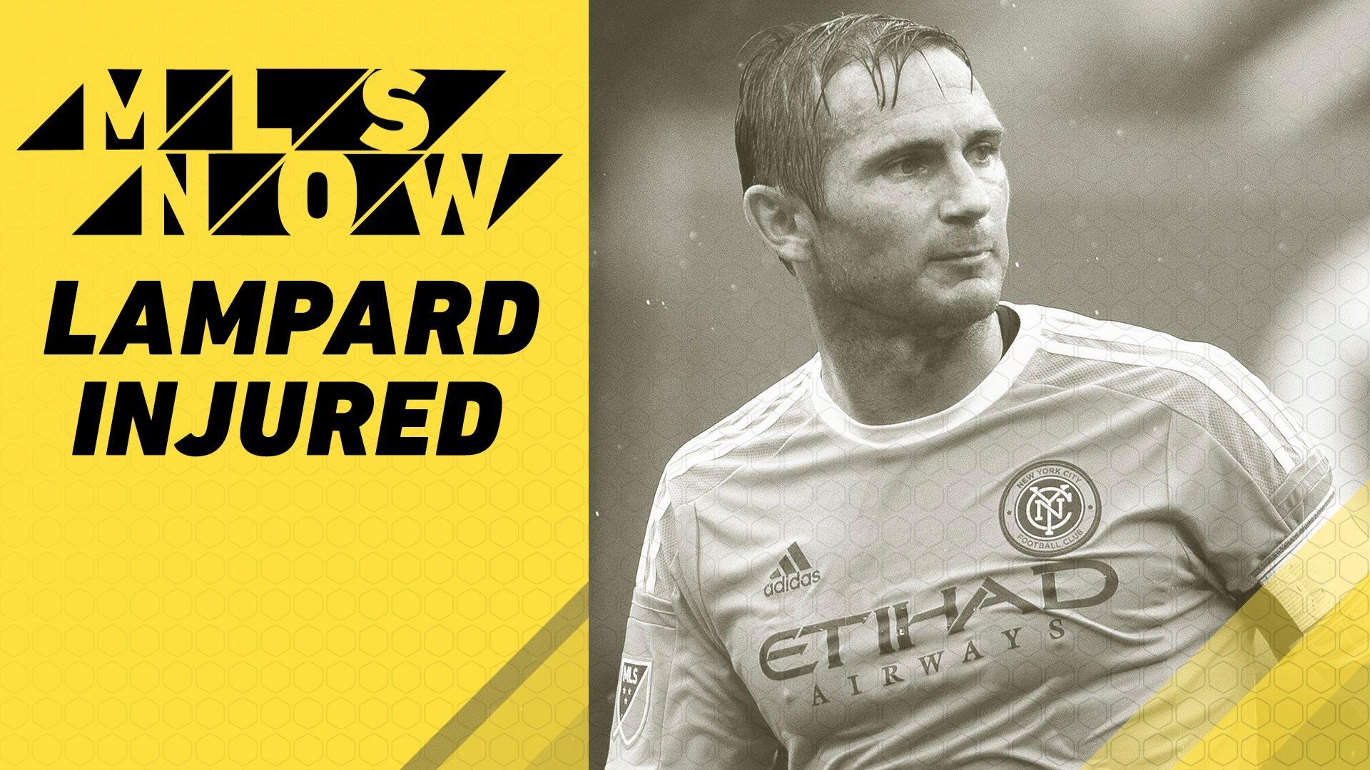Video via MLS: Assessing Lampard's injury