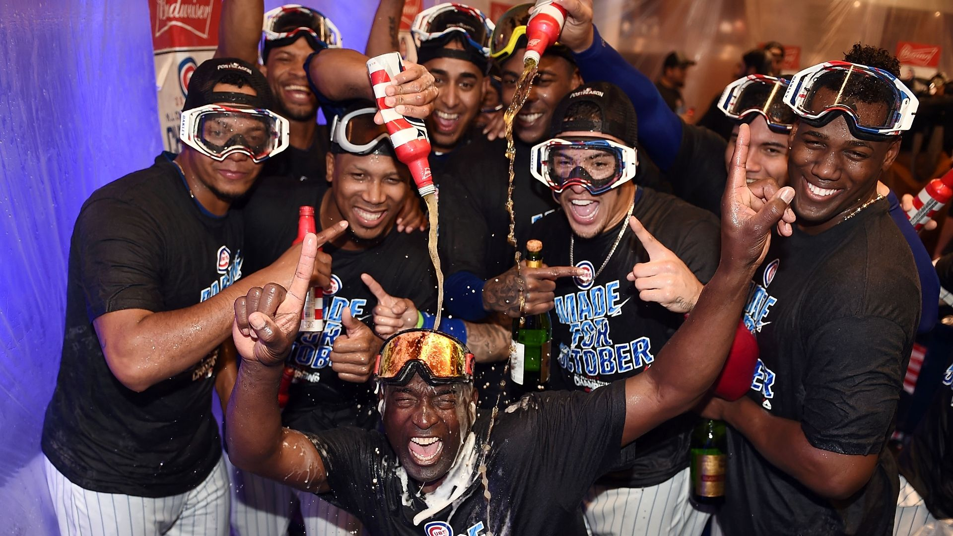 Cubs have a party room in their clubhouse