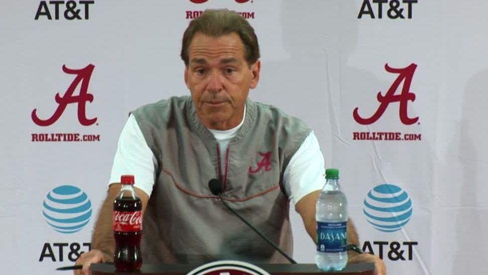 Saban 'would love' to see Barnett be part of Alabama's future
