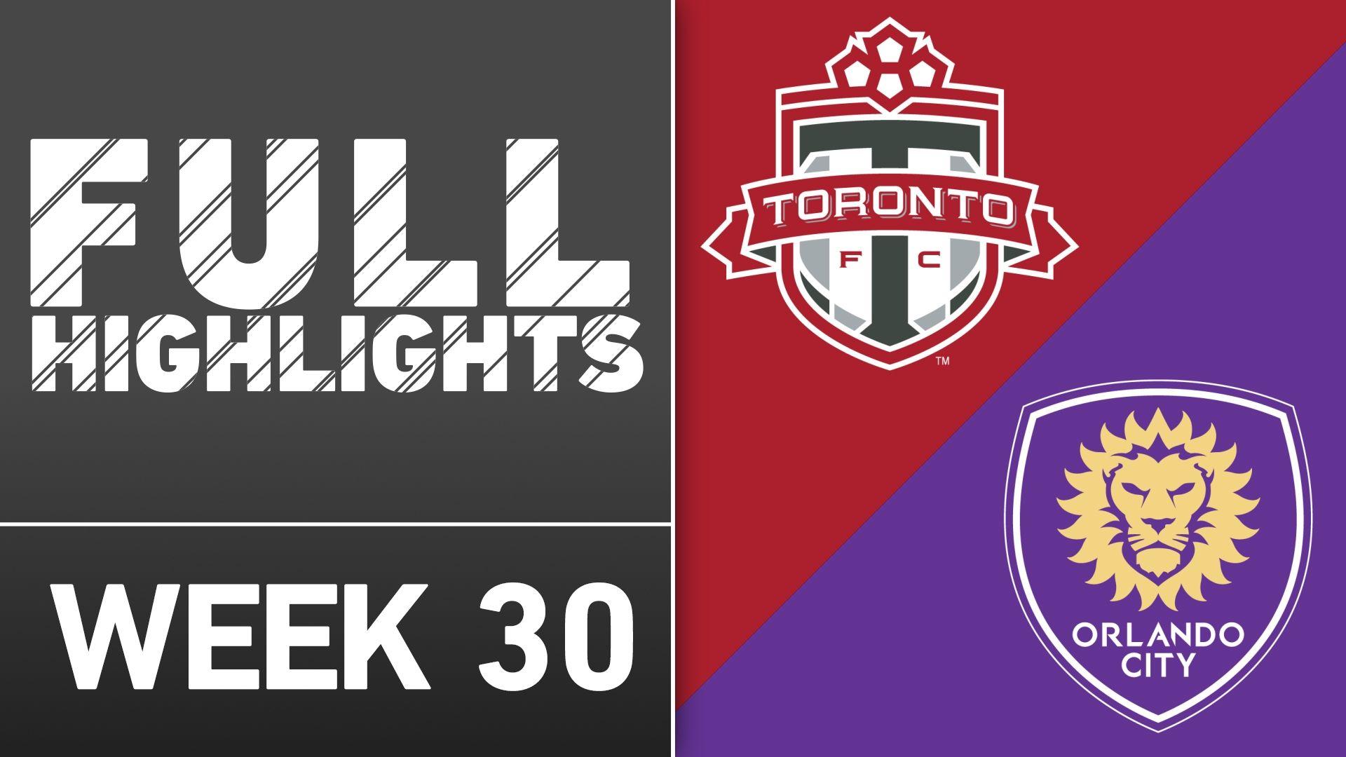 Video via MLS: Toronto FC 0-0 Orlando City