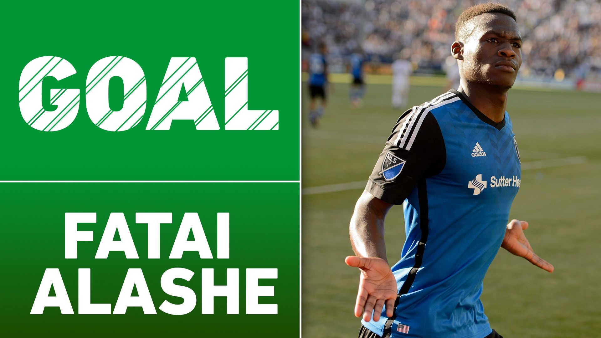 Video via MLS: Alashe beats Rimando