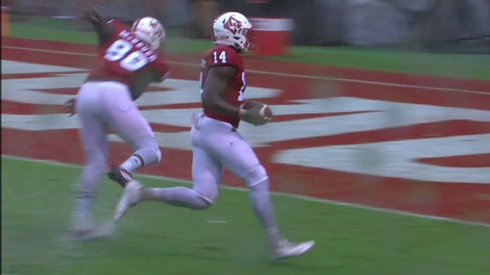 NC State's blocked punt leads the Wolfpack to victory