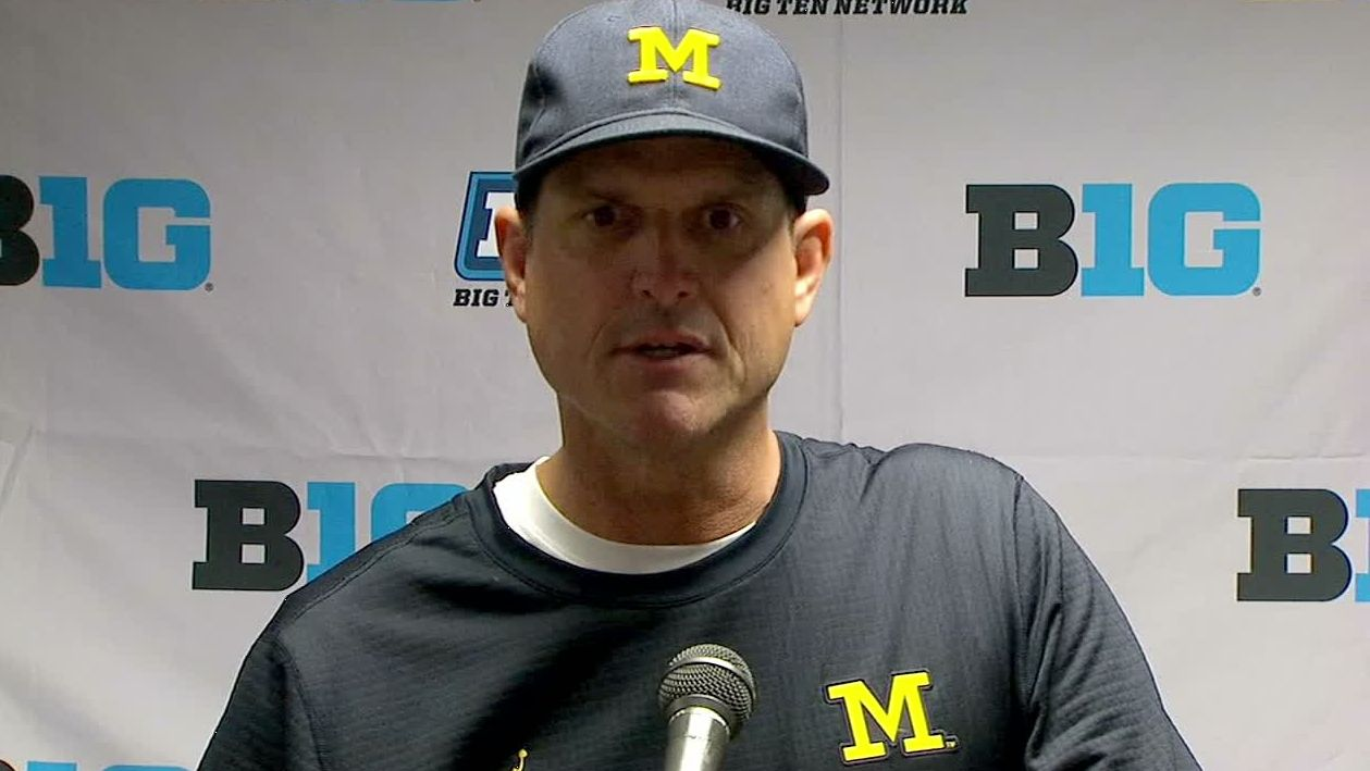 Harbaugh believes Peppers has a Heisman in his future