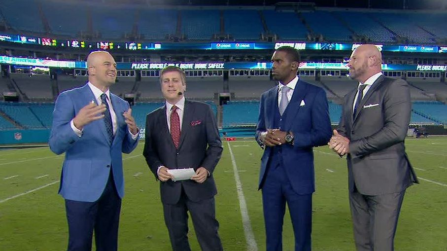 Hasselbeck, Dilfer dumbfounded by Newton on scooter