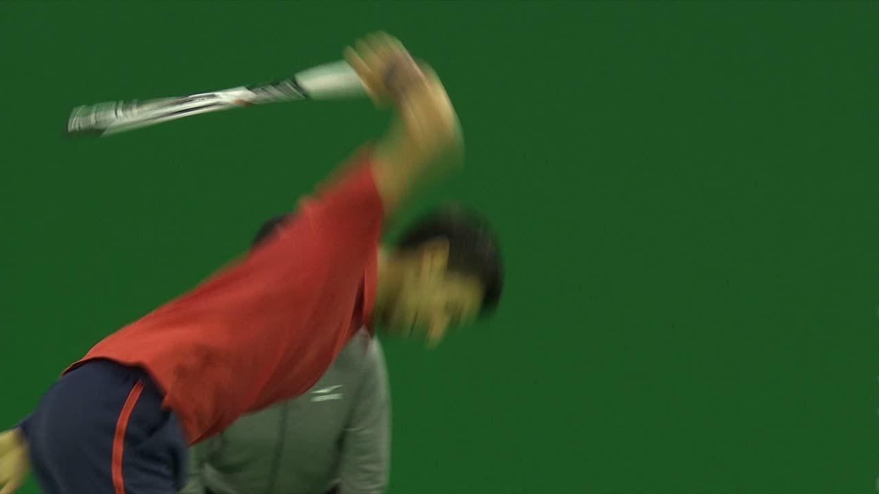 Djokovic's racket rage