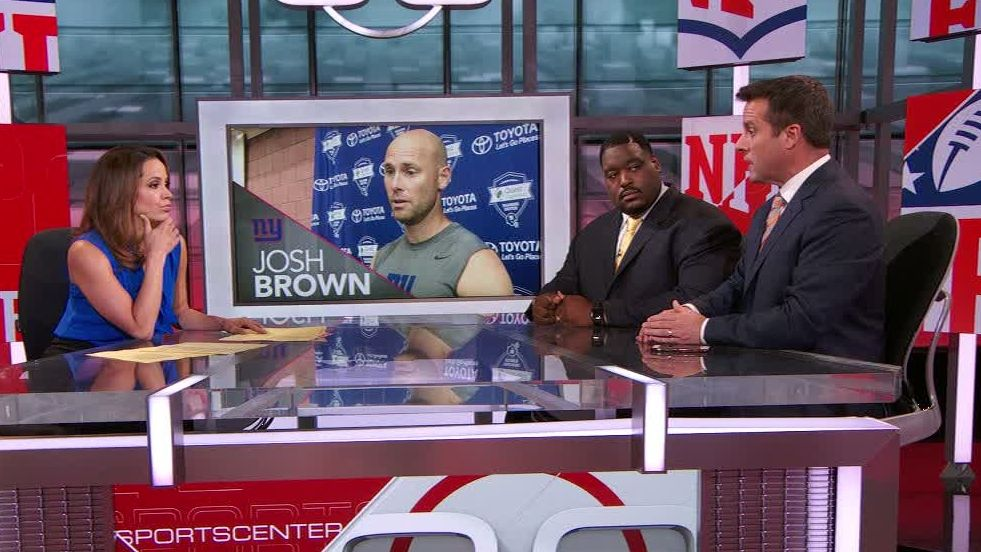Should the Giants release Josh Brown?
