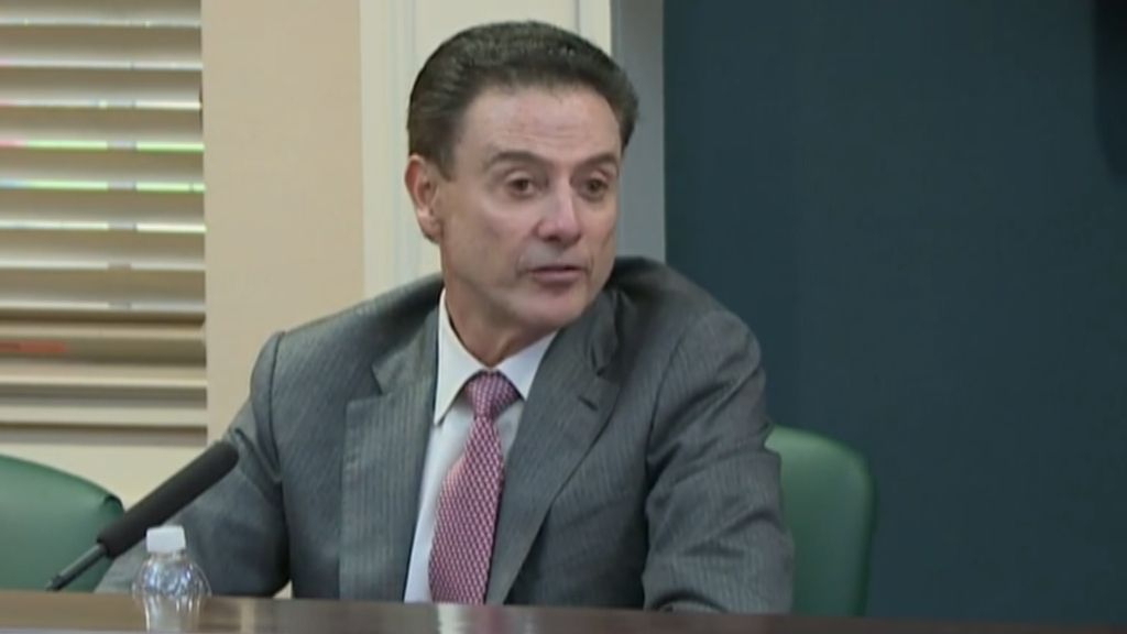 Pitino says he over-monitors, is guilty of trusting someone
