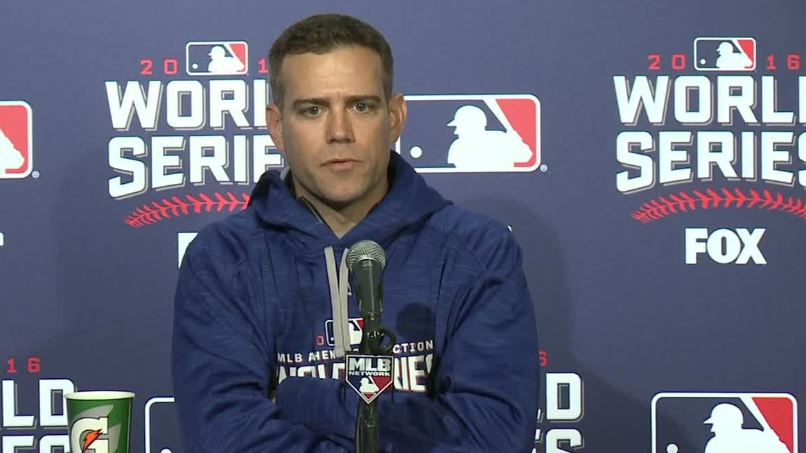 Epstein says Schwarber won't play field at Wrigley