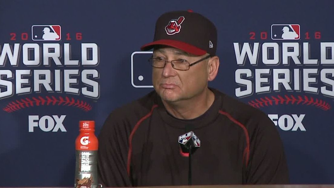 Francona excited to get to ballpark for Game 7