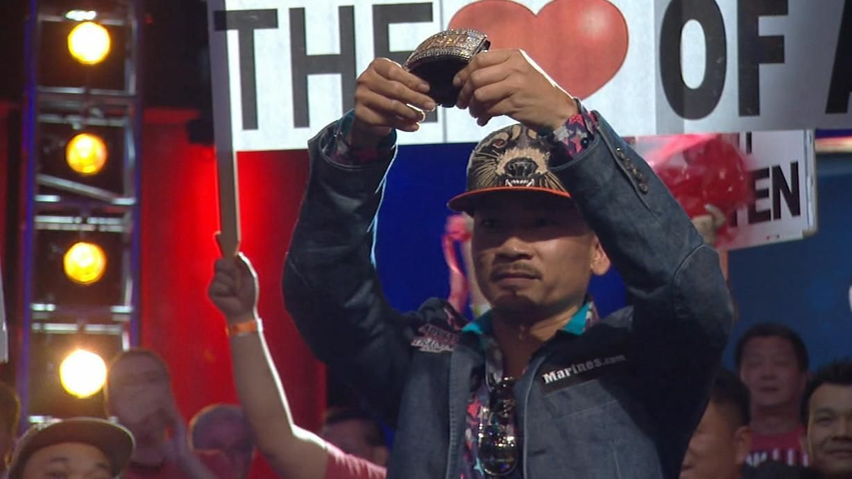 Nguyen dispatches Vayo to win 2016 WSOP main event