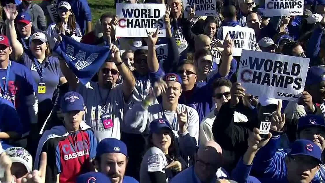 Cubs parade makes the 108-year wait worth it