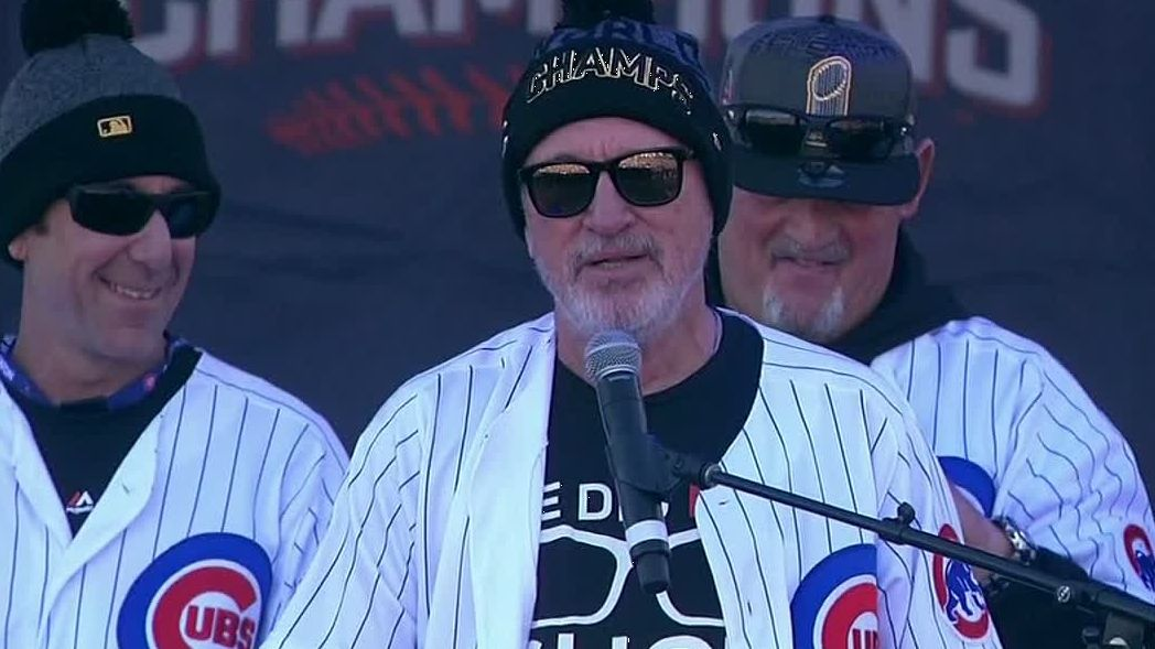 Maddon congratulates fans on World Series win