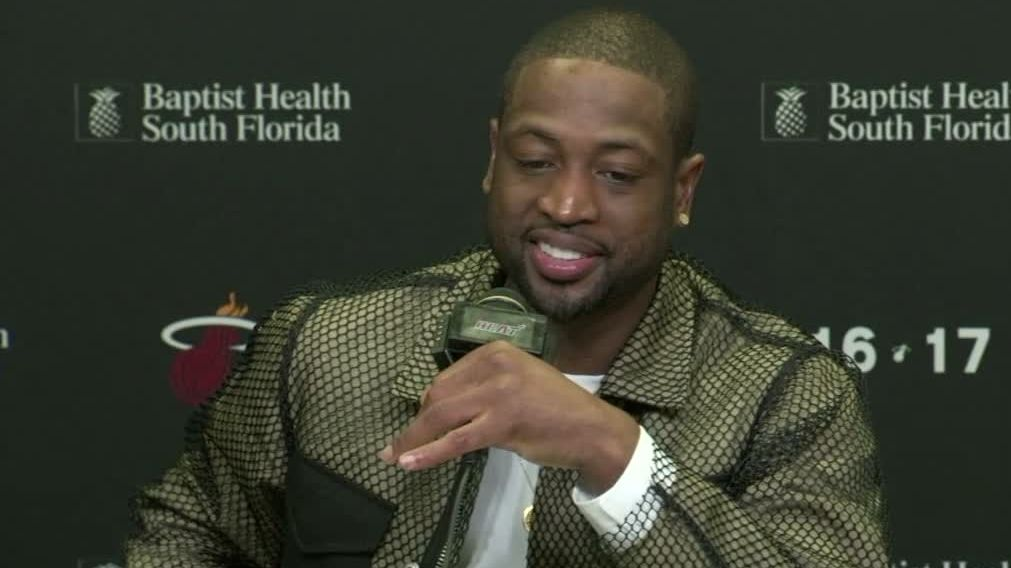 Wade: 'Weirdest basketball game I've ever played'