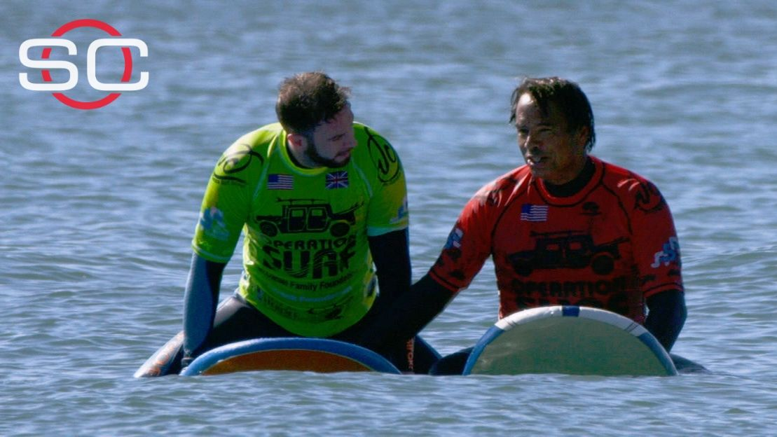 Operation Surf bringing serenity to veterans