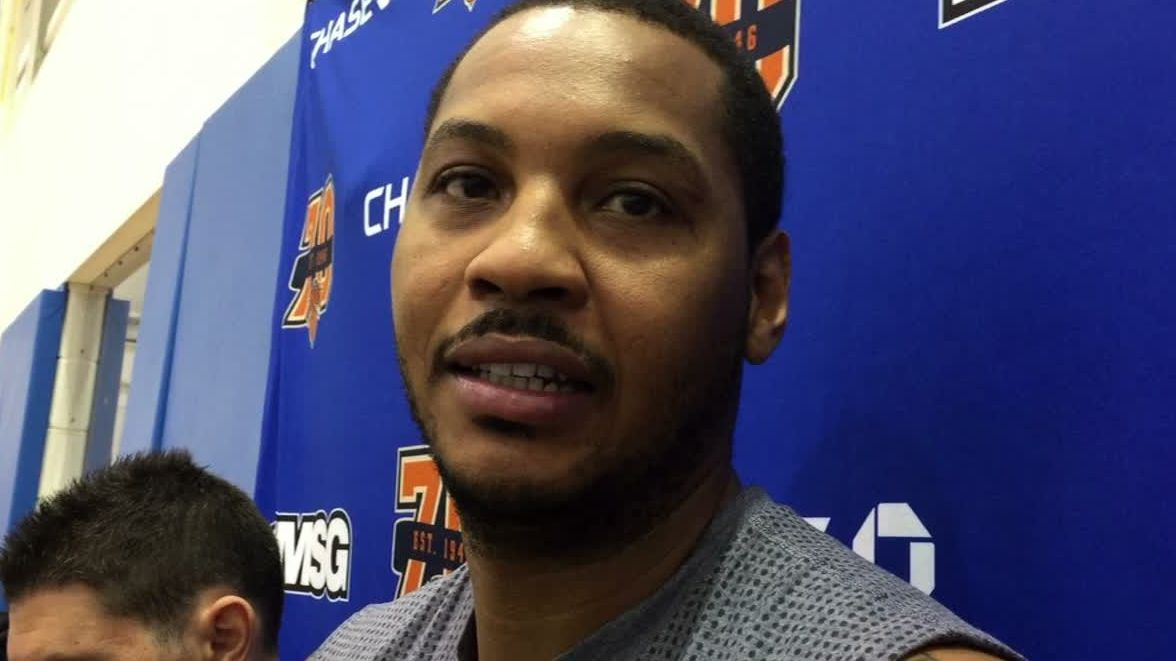 Carmelo hopes Phil didn't mean to offend anyone