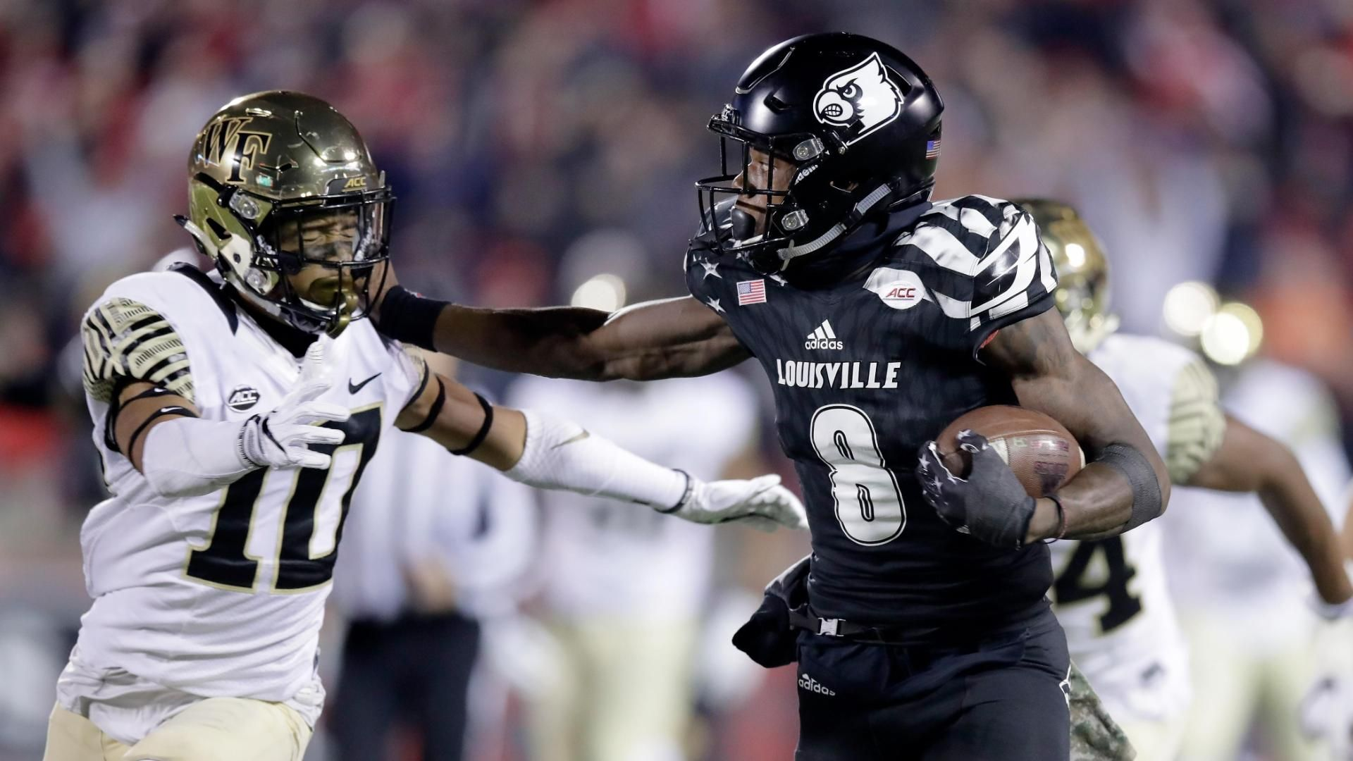 Sloppy Louisville fights off Wake Forest