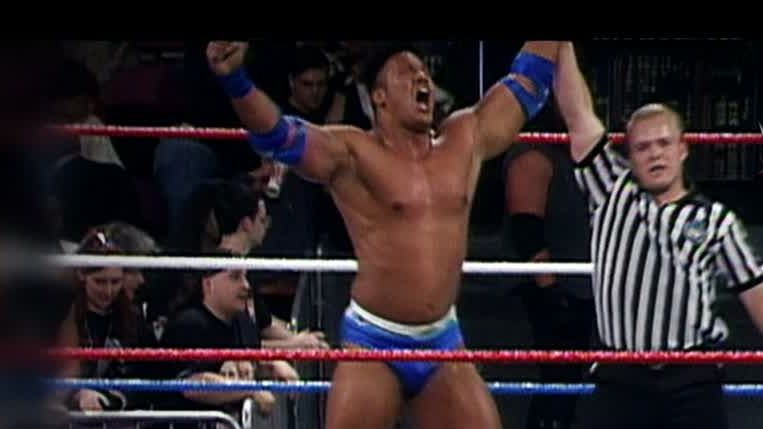 When 'The Rock' made his WWE debut