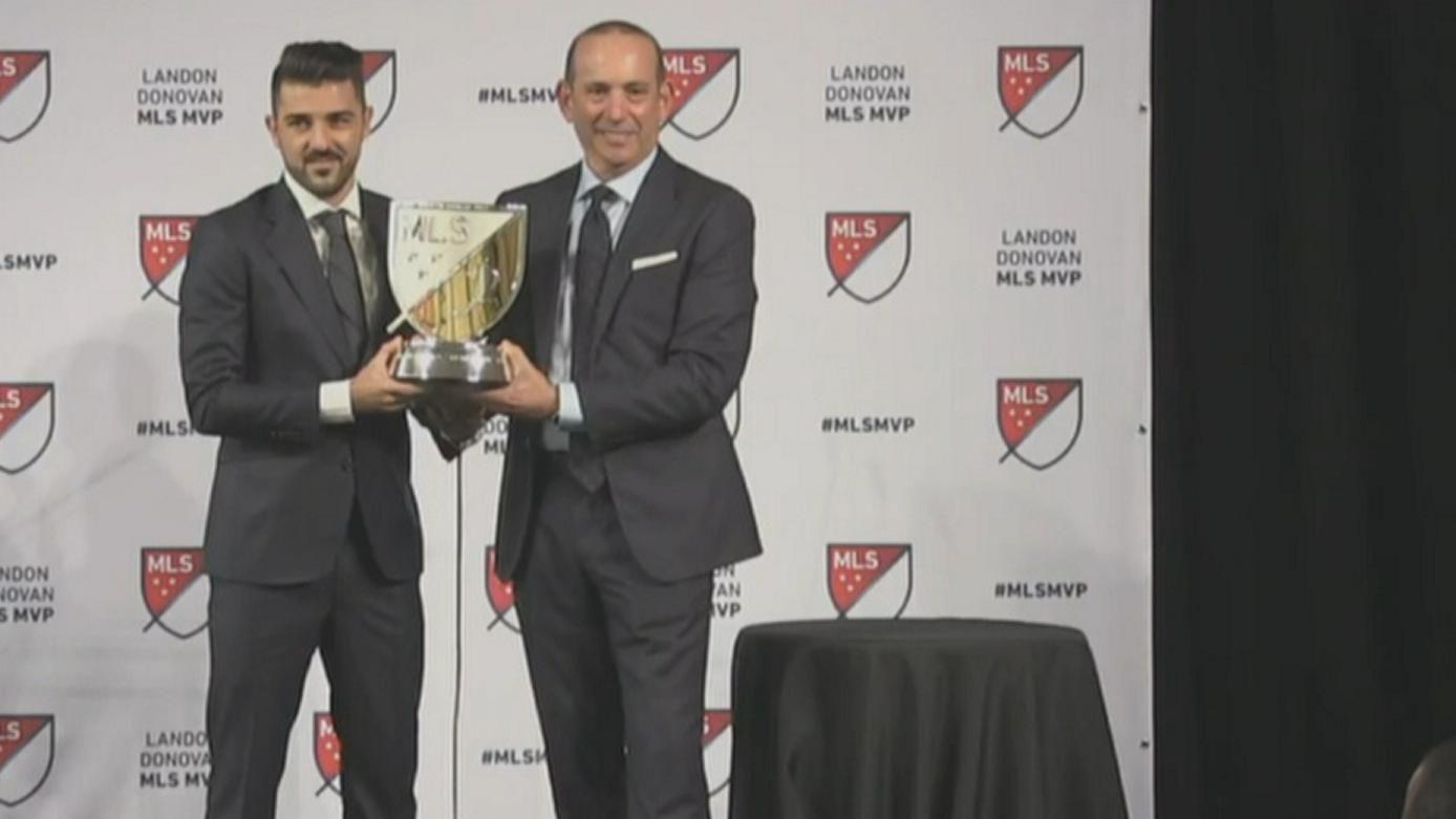 Villa: I came to MLS to make history