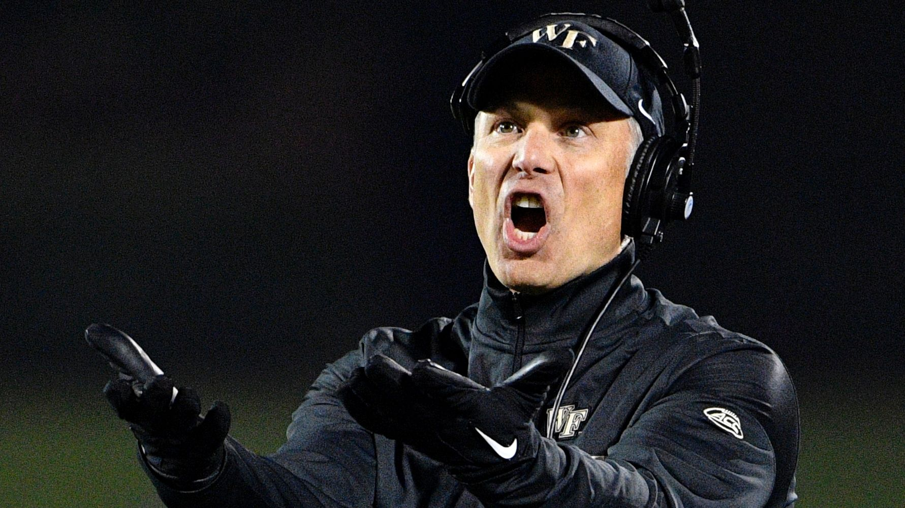 Wake Forest coach explains what happened before Louisville game