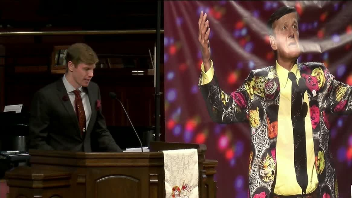 Sager honored with love at memorial