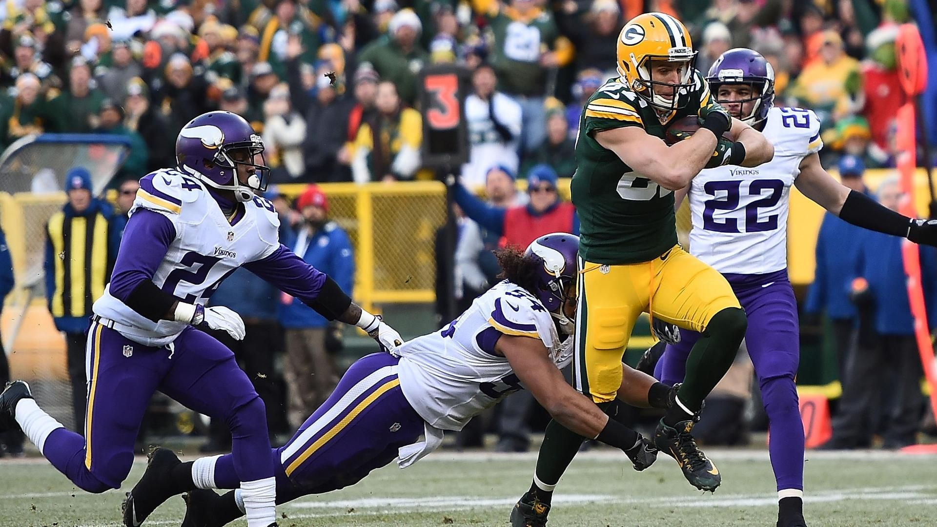 Rodgers, Nelson touchdown makes history
