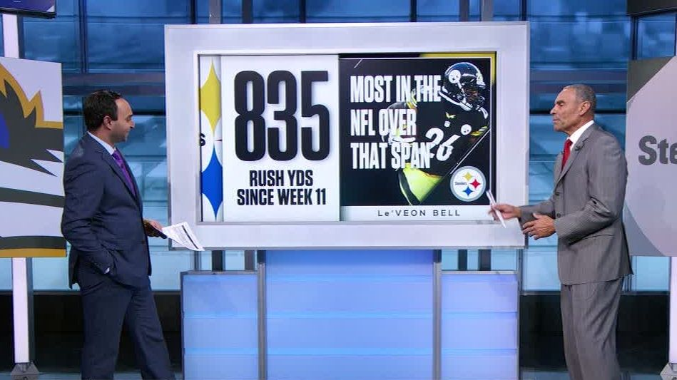 Bell playing at MVP level for Steelers
