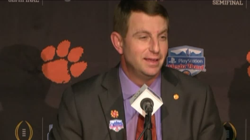 Swinney hoping Meyer's book provides an edge for Clemson