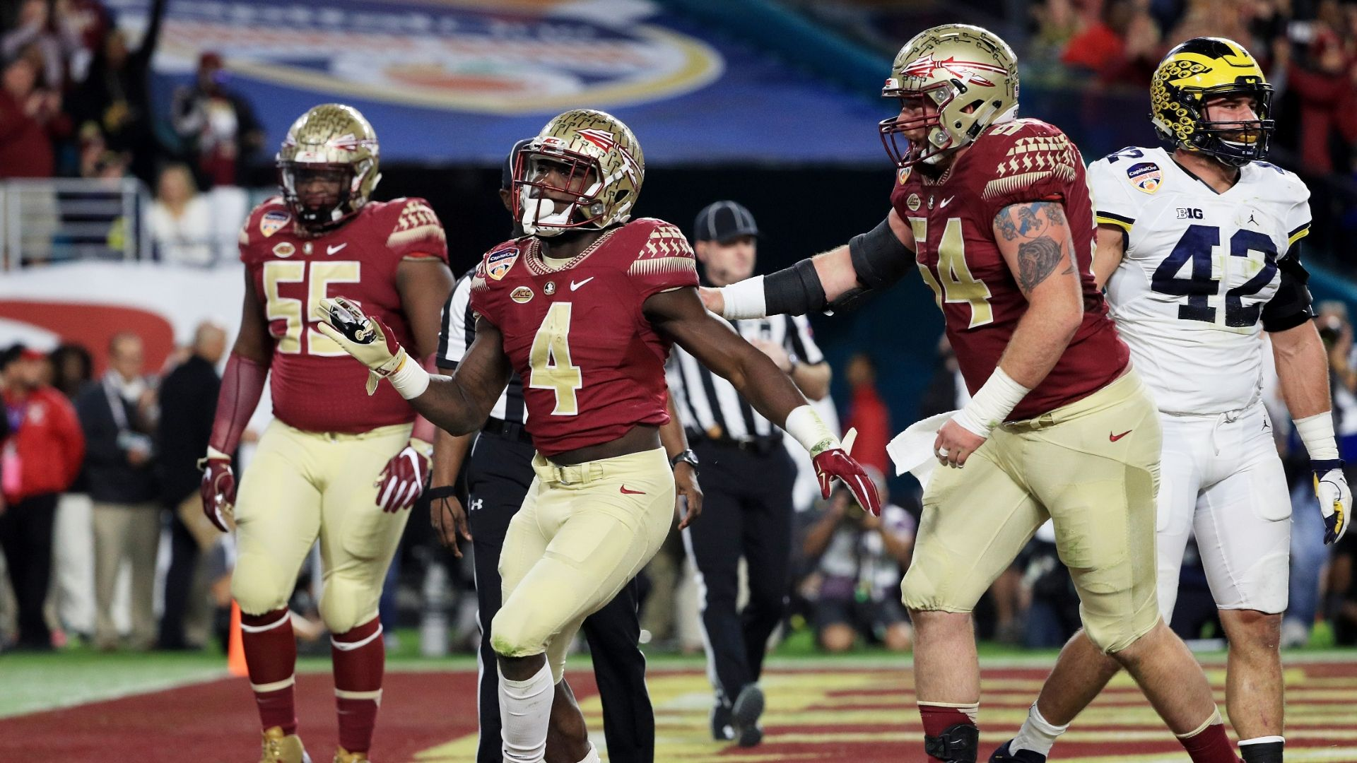 Florida State prevails to stop Michigan in Orange Bowl