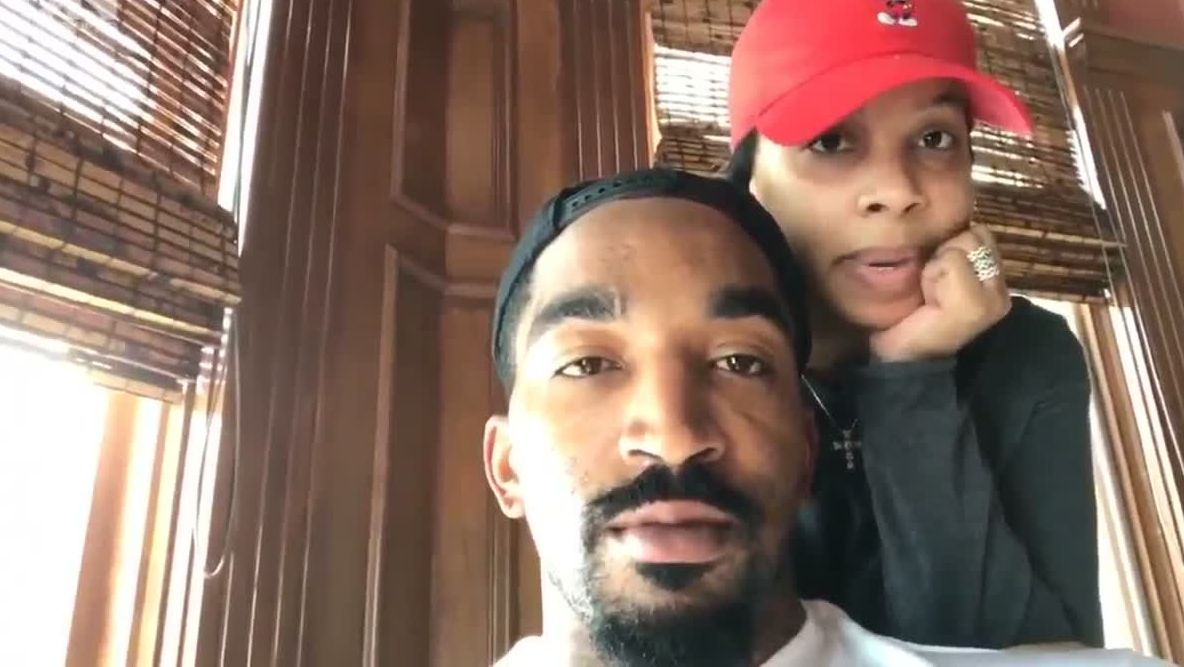 J.R. Smith, wife reveal daughter born five months premature
