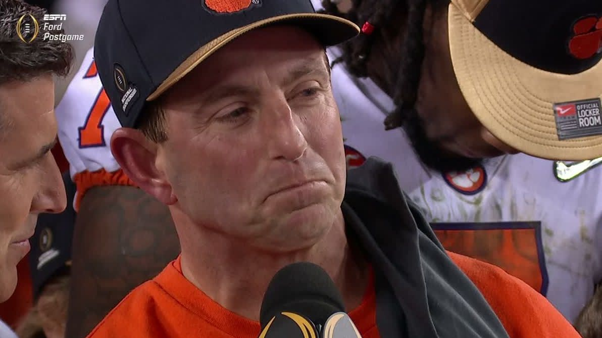 Swinney: It's a blessing to win championship