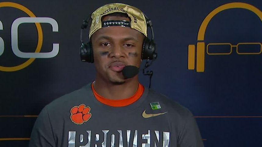Watson looks ahead to NFL career