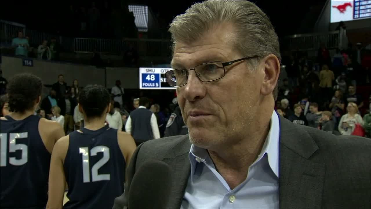 Geno: UConn's history got them to 91 wins