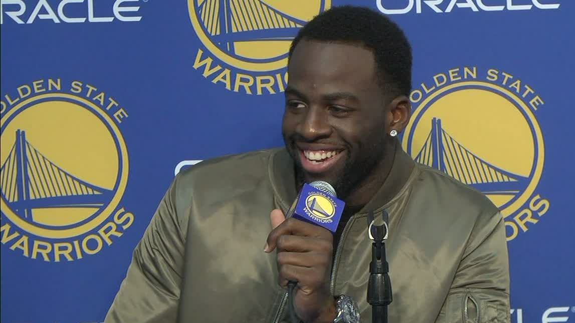 Draymond says he fouled LeBron to stop the break
