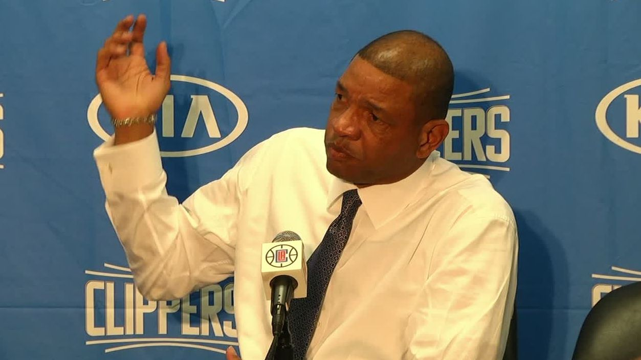 Doc Rivers on CP3's thumb: 'Original X-ray was negative'