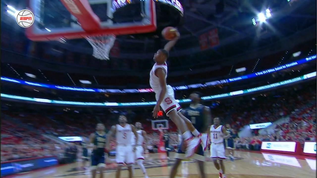 Dennis Smith Jr. provides the big throwdown