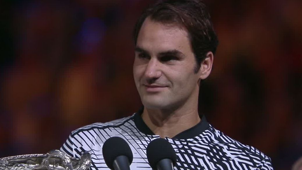 Federer would have been happy to lose, accept a draw to Nadal