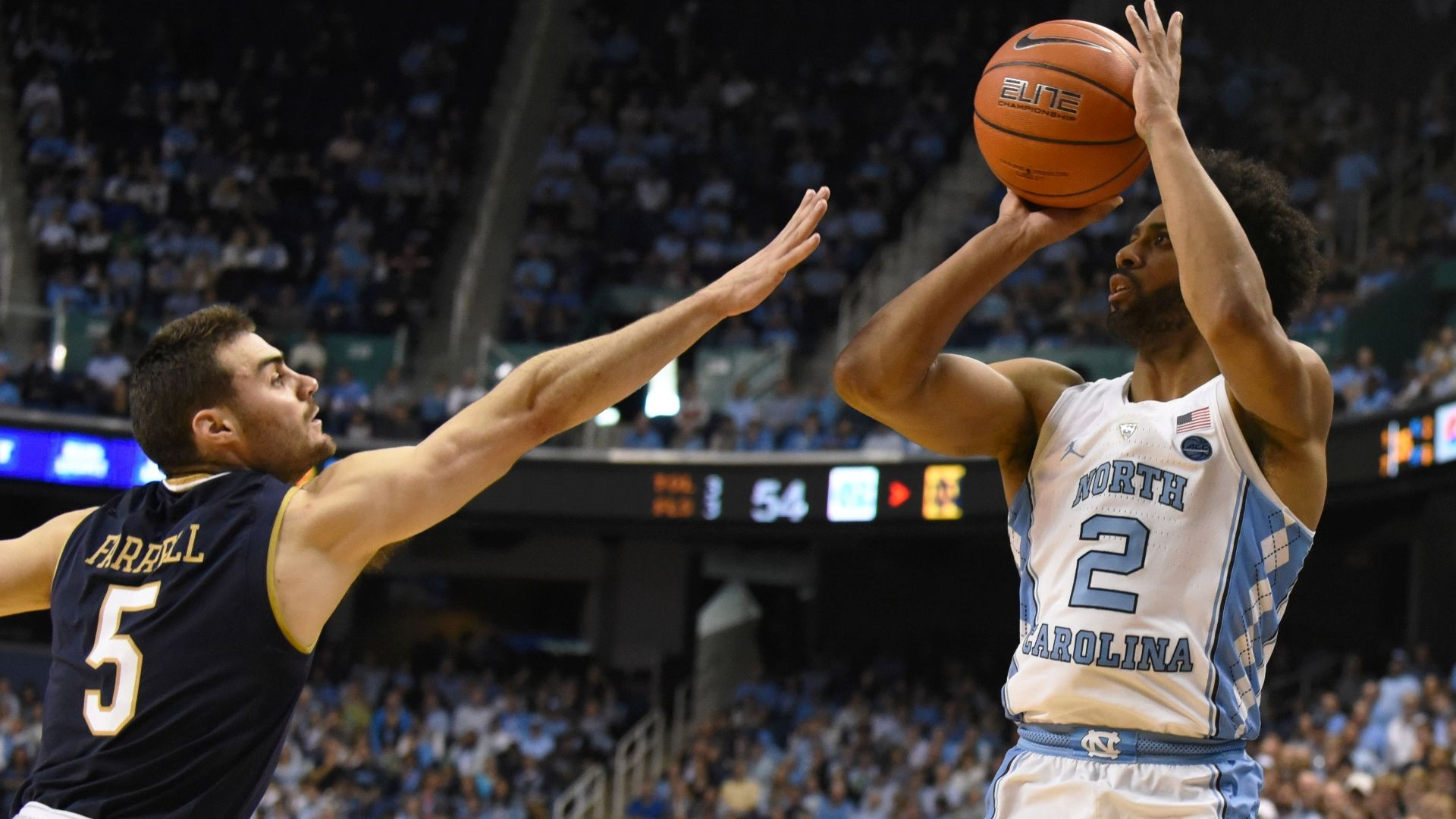 Balanced attack fuels UNC to win over No. 20 Notre Dame