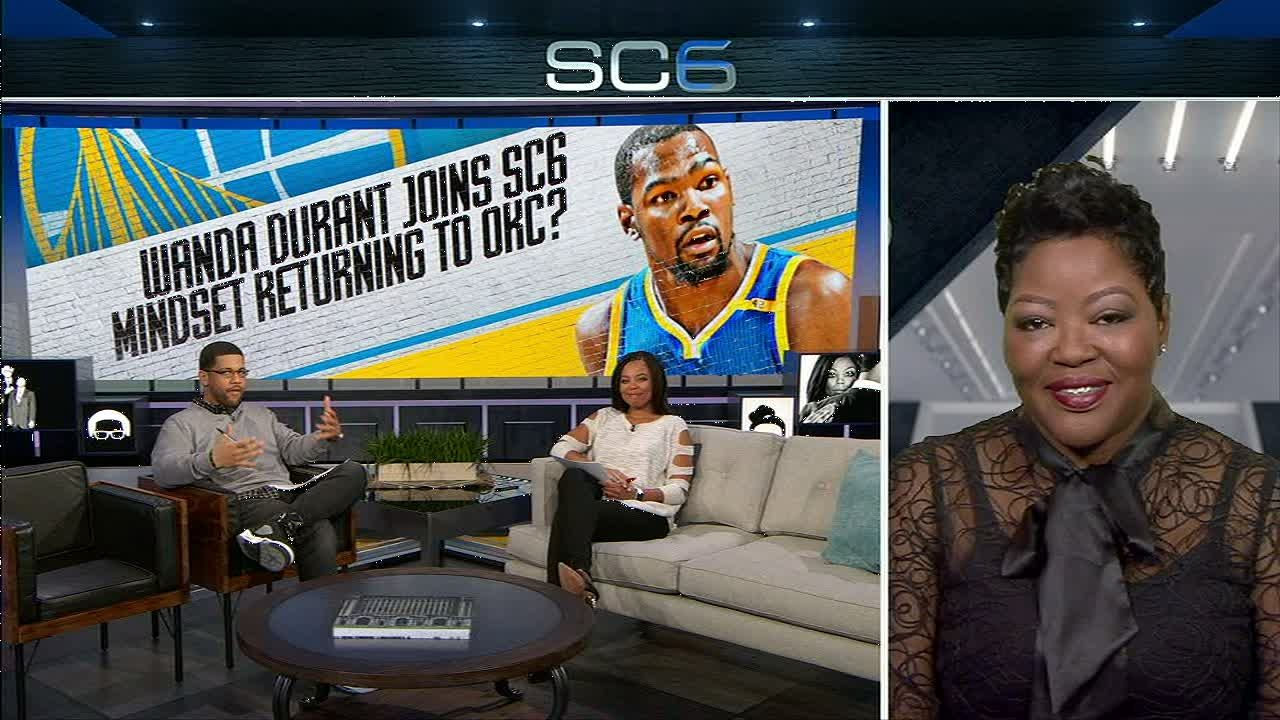 Wanda Durant supportive of Kevin's decision to play with Warriors