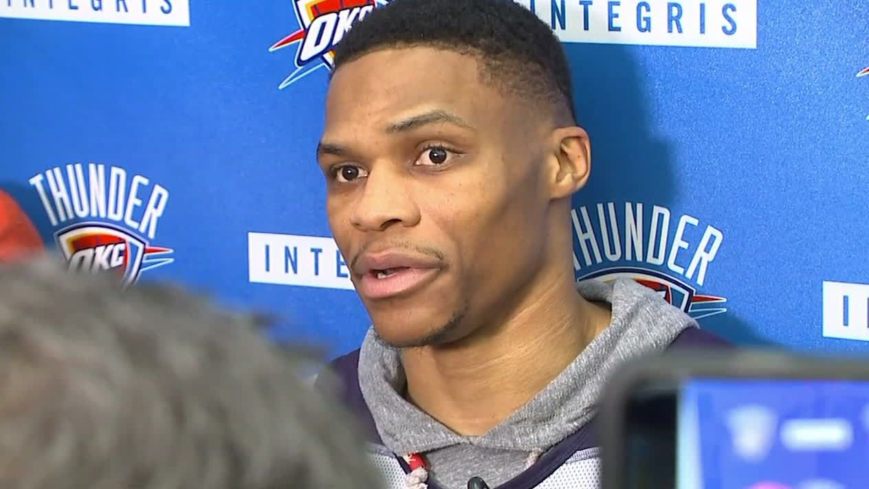 Westbrook: 'We shall see' on how Durant is received